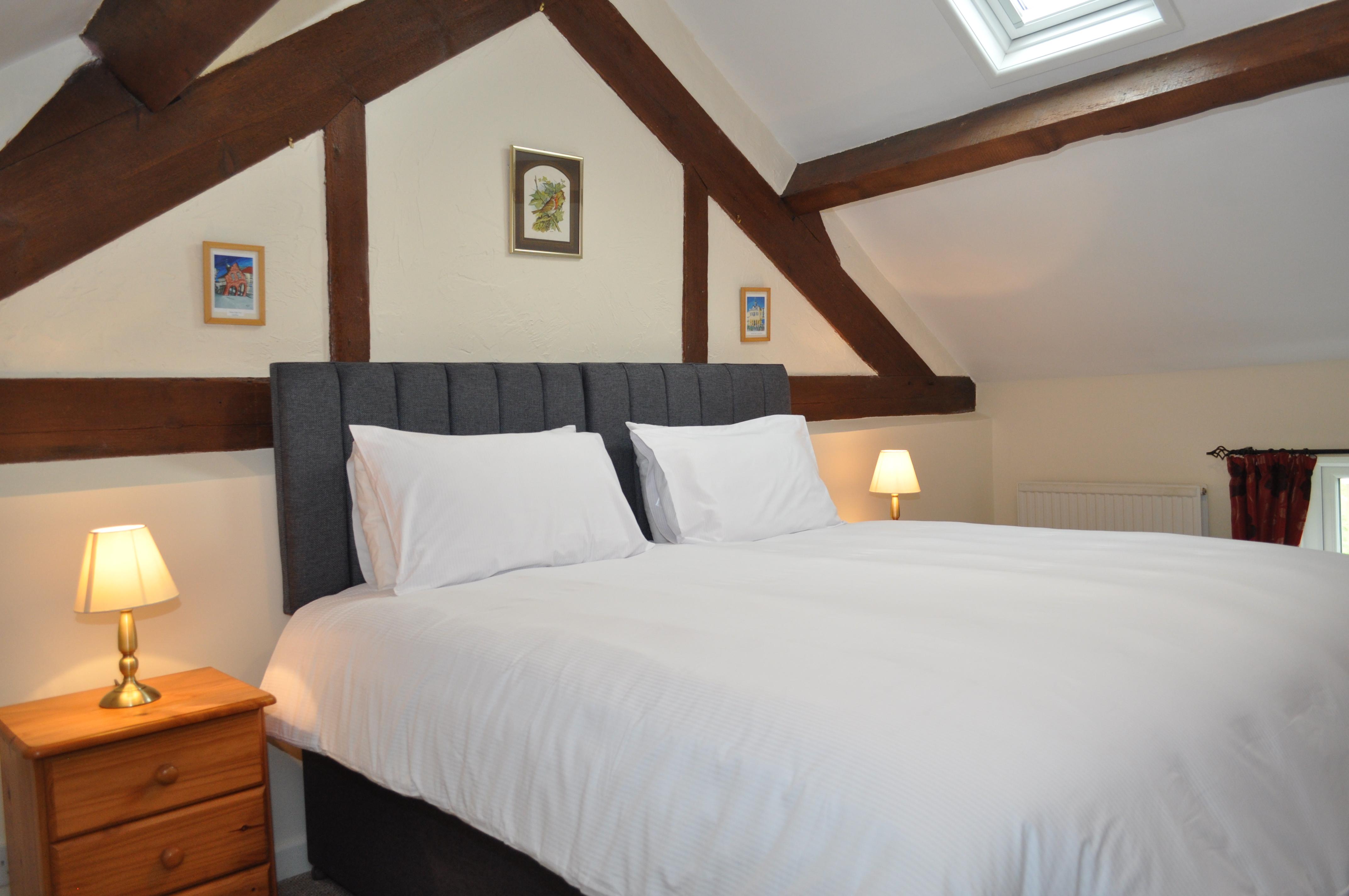 Zip & Link Beds made up as Superking