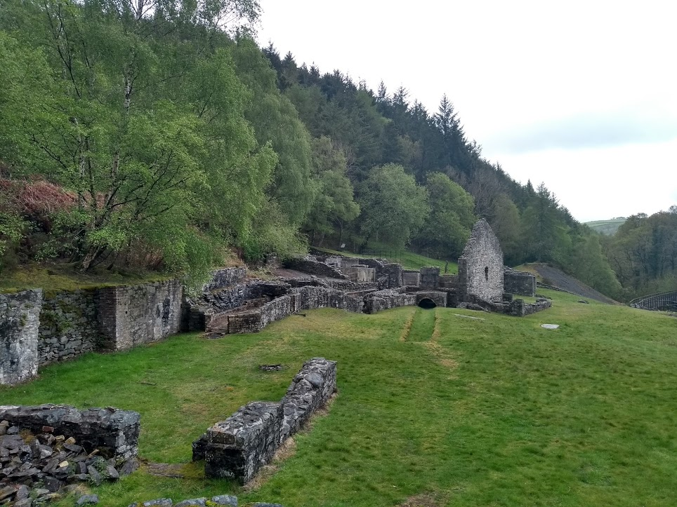 Bryntail mine buildings