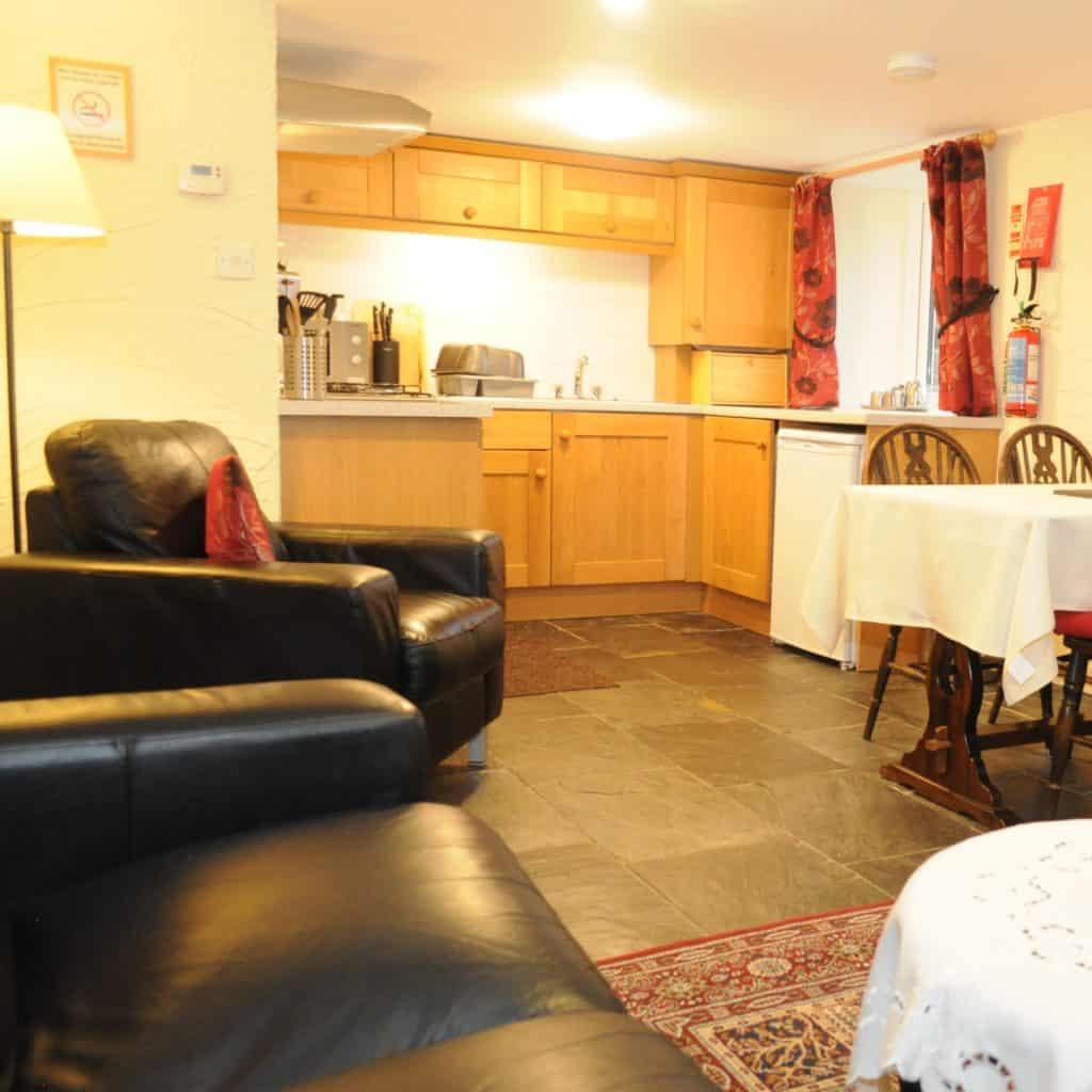 Wye lounge and kitchen